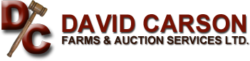 Carson David Farms & Auctions Services logo