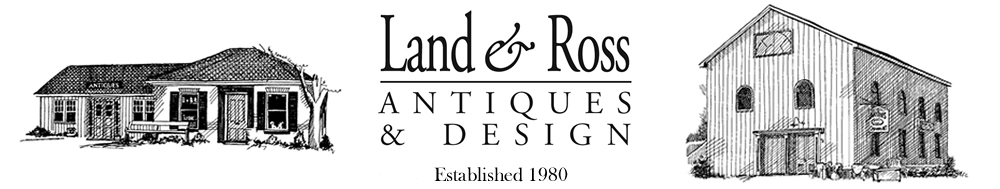 Land & Ross Antiques logo